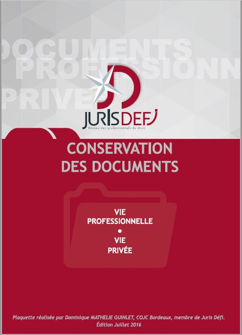 Conservation des documents
